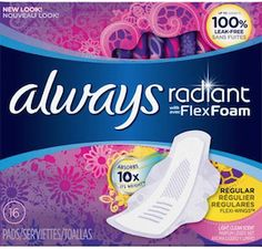 Always And Tampax Only $.74 Per Box At CVS!