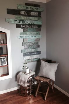 decorations for a dirt bike room - Google Search