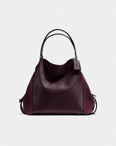 Edie shoulder bag 42 in oxblood
