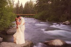 Venue: Private estate on river near squaw, off 89, where deer creek comes out.  Lake Tahoe Wedding by Melina Wallisch Photography