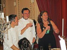 El Cine Cocina - Les Saveurs du Palais - Olivier, Bruno y Patricia, los chefs