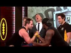Ben Ross Breaks Arm On Live TV - Wendell Sailor Breaks Ben Ross Arm On F...