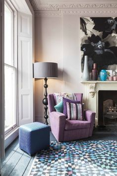 Decorating London: Floral & Fabulous, the home of a floral stylist — The Decorista