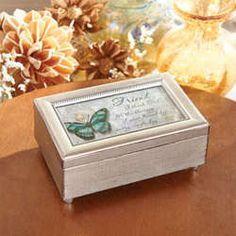 Blessings of Friendship Music Box