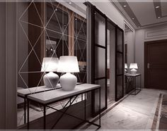 Minimalist Interior, Modern Interior Design, Luxury Interior, Interior And Exterior, Feature Wall Design, Console Furniture, Entrance Design, Boutique Interior, Interior Decorating