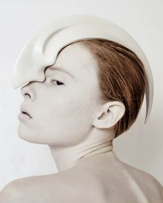Ana Rajcevic received the London College of Fashion's 2012 MA Design Award for ANIMAL: The Other Side of Evolution.