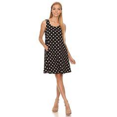 Women's and Spandex Sleeveless Dress