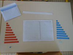 Matériel Montessori dans la classe