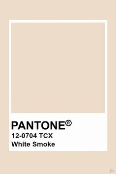 This color is tan in hue, light in value, and medium in chroma. This creates a very warm and inviting color. Pantone Swatches, Color Swatches, Pantone Colour Palettes, Pantone Color, Colour Pallete, Colour Schemes, Color Trends, Bedroom Wallpaper White, White Bedroom