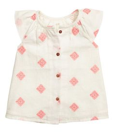Baby Girl Embroidered Linen-blend Dress $24.99