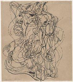Masson automatic drawing - Surrealist automatism - Wikipedia, the free…