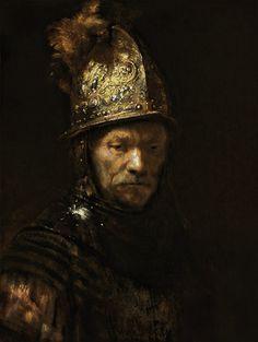 Rembrandt van Rijn - El hombre con el casco de oro