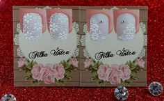 Nail Envy, Wedding Nails, Alice, Place Card Holders, Nail Art, Frame, Manicures, Design, Anna