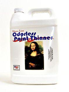 Speedball 8-Ounce Mona Lisa Odorless Paint Thinner