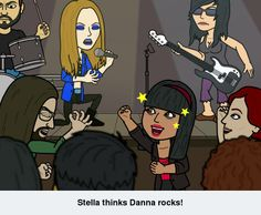Stella thinks Danna rocks!