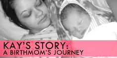 This post is written by my son's birthmother.  Thank you for sharing your story, Kay! It's not often that someone asks about my adoption story. As a matter of fact, hardly anyone does. You hear about the families who grow through adoption, and the lives that are touched by it. It's not often you hear …