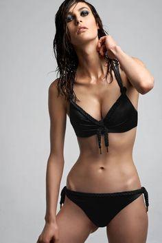 marlies|dekkers | holi glamour push up bikini top and 6cm briefs in black