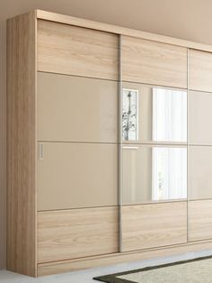 Bedroom Wardrobe Doors Armoires 70 New Ideas Wardrobe Closet, Bedroom Furniture Design, Bedroom Design, Bedroom Closet Design, Bedroom Cupboard Designs, Cupboard Design, Door Design Modern, Sliding Door Wardrobe Designs, Wardrobe Door Designs
