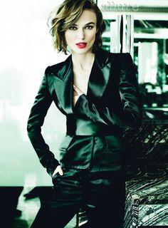 Keira Knightley - Allure by Mario Testino, December 2012