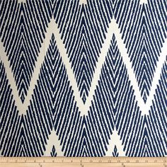 Lacefield Bali Chevron Navy Chalk, (SOLD in PAIRS) Lined drapes, pleated drapes, Grommets by PushMountainDesigns on Etsy https://www.etsy.com/listing/243845819/lacefield-bali-chevron-navy-chalk-sold