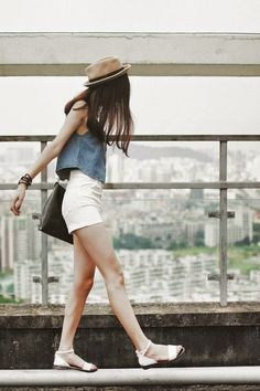 KOREAN STREET STYLE: ¿CÓMO SE VISTEN LAS COREANAS EN VERANO? | Mundo Fama Corea