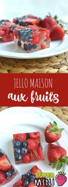 Impressionnez vos petits avec ce Jello maison transparent aux fruits. Un Jello santé aussi beau que bon. Il est tellement simple à cuisiner que même vos Super Minis pourront le faire eux-mêmes!