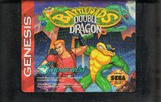 Battletoads / Double Dragon Genesis Media