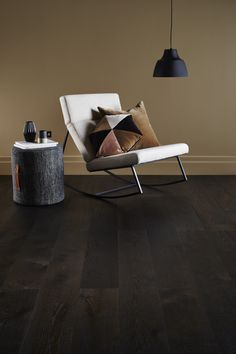 Villa Timber Flooring in Espresso.Let your floor become the focal point of your interior, with the unique pattern features of each board accentuated by subtle micro bevelled edges.