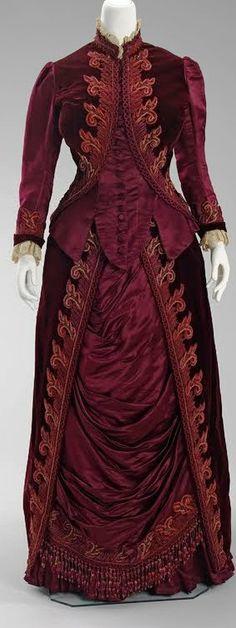 1885 Worth dress