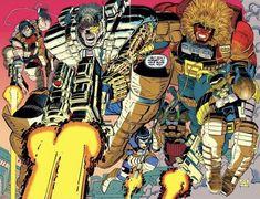 Comic Book Artists, Comic Books Art, Comic Art, Marvel Heroes, Marvel Comics, Dan Green, Rob Liefeld, John Romita Jr, Marvel Comic Character