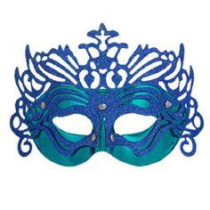 Amico Blue Powwder Covered Paper Cut Pattern Masquerade Party Mask for Woman by Amico, http://www.amazon.com/dp/B008IGI48S/ref=cm_sw_r_pi_dp_hGwErb0W55TA9