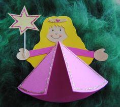 prinzessin geburtstag einladung stern karte *** princess party, Einladung