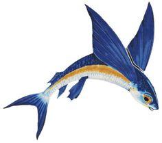 Flying Fish/Octopus - Ceramic Mosaic Art