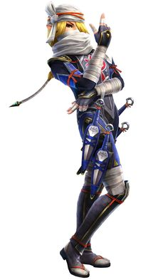 Sheik - Characters & Art - Hyrule Warriors