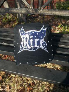 RICE University Custom made Cadet Cap ~ CAPS COUTURE ~