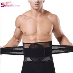 931a5c889c ... from China waist support belt Suppliers  New Adjustable Men waistband Belly  Waist Shaper Belt Abdomen Tummy Trimmer Cincher Girdle Burn Fat Body  shaping ...