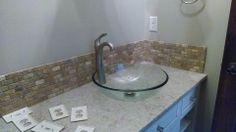 Laundry In Bathroom, Beautiful Bathrooms, Backsplash, Floors, Tile, Bob, Facebook, Design, Home Decor