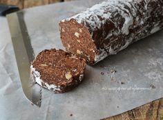 Salame wafer e nutella senza uova con tante nocciole croccanti,ha il sapore dei ferrero rocher..buonissimo e golosissimo
