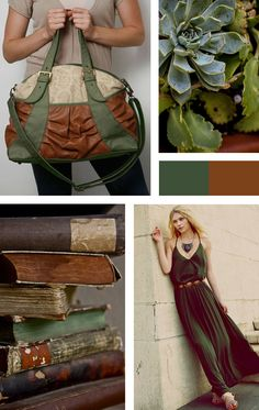 For Love of Color - amykathryn green handbags