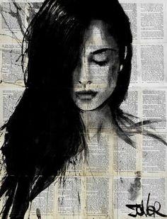 "Saatchi Art Artist Loui Jover; Drawing, ""quest"" #art"