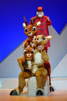 Rudolph The Red-Nosed Reindeer: The Musical at the Schubert Theatre in Boston