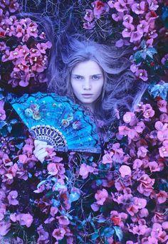 Dark Beauty Magazine Photographer: Idan Barazani Model: Betty Zeltzer