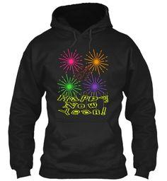 New Year's Eve T Shirt  Black Sweatshirt Front