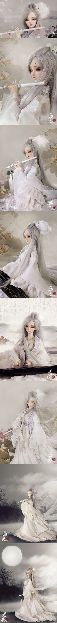 (AS Agency)BJD Yang YuHuan/Shy Girl 62cm Ball-Jointed Doll_SD size doll_Angell Studio_DOLL_Ball Jointed Dolls (BJD) company-Legenddoll