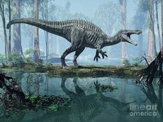 Suchomimus - Craig Brown