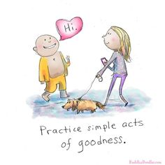 Practice loving-kindness