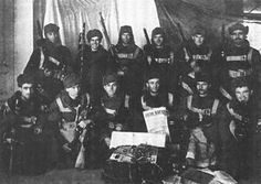 """Agent """"Katulsky"""": NKVDist au service de l'Allemagne nazie  Groupe de saboteurs russes de l'ops """"Zeppelin"""" avant leur départ vers l'URSS"""