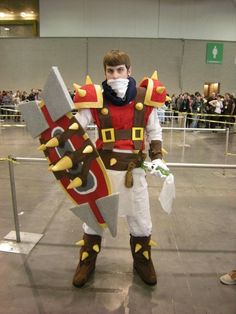 Pretty awesome Singed cosplay