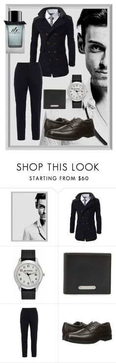 """""""He wasn't any skater boy..."""" by ashleigh-oxley ❤ liked on Polyvore featuring Columbia, Yves Saint Laurent, Dolce&Gabbana, Rockport, Burberry, men's fashion and menswear"""