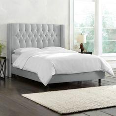 Melanie Upholstered Panel Bed